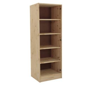 Pine 610 Trendi Shelves Wardrobe Panel