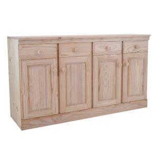 Pine A4 Kitchen Unit