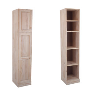 Pine Single Grocery Cupboard