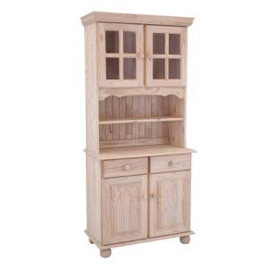 Pine 2 Door Lisa Dresser
