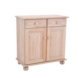 Pine Lisa Base Unit 2 Door