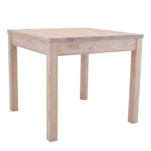 Pine Plain Leg Table 900 X 900