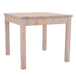 Pine Et Square Leg Table 900x900