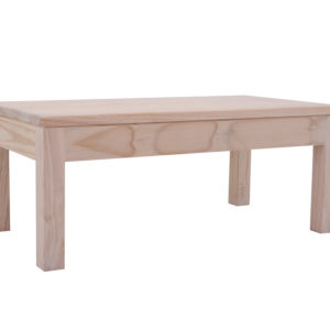 Pine 1100 X 600 Flush Top Coffee Table
