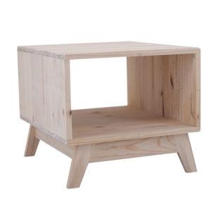 Pine Ollie Coffee Table 500x600 No Drawers