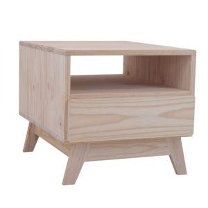 Pine Ollie Coffee Table Drawer 500x600