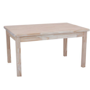 Pine Kiddies Rectangular Table