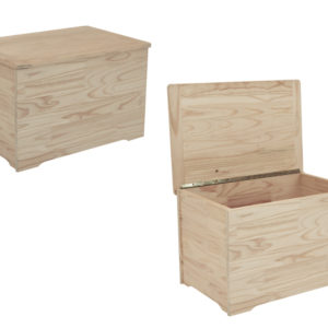 Pine Rm Toy Box