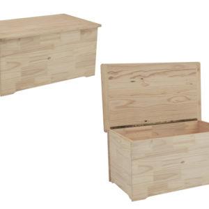 Pine Lm Toy Box Medium