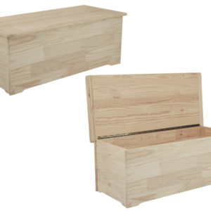 Pine Lm Toy Box Large