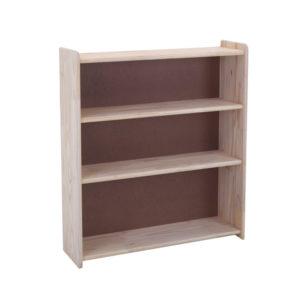 Pine 3x3 Bookcase