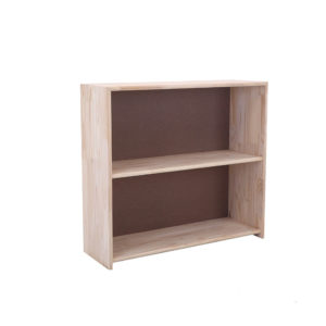 Pine 2 Section File Bookcase