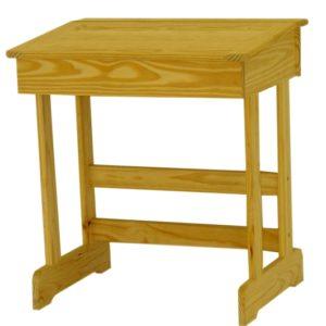 Pine School Desk Small