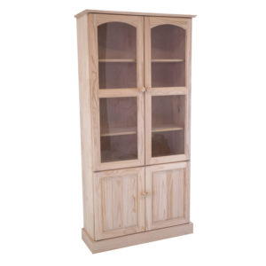 Pine Mod Display Unit 2 Panel Doors